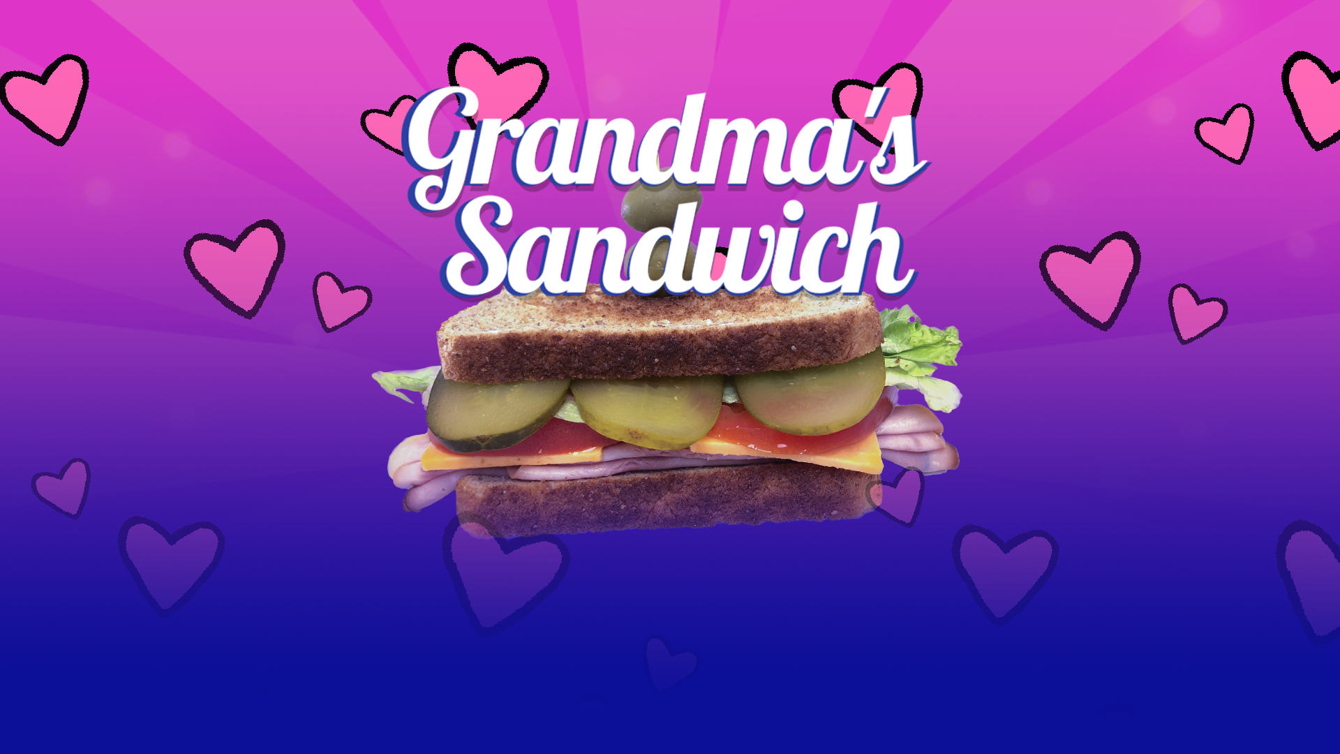 Fight Off Your Neighbor in 'Grandma's Sandwich'