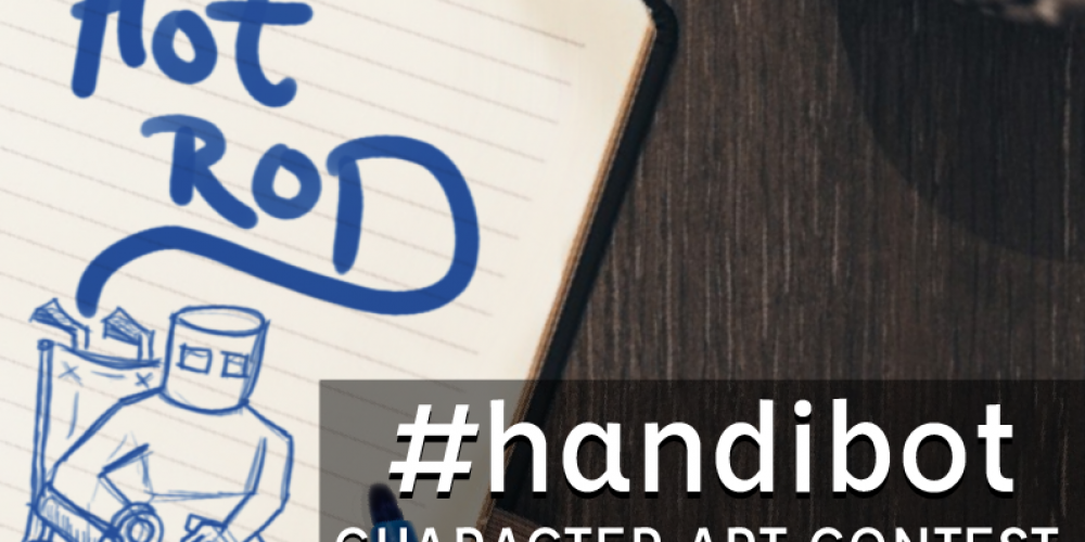 You Can Create a Character for Handi Bot!