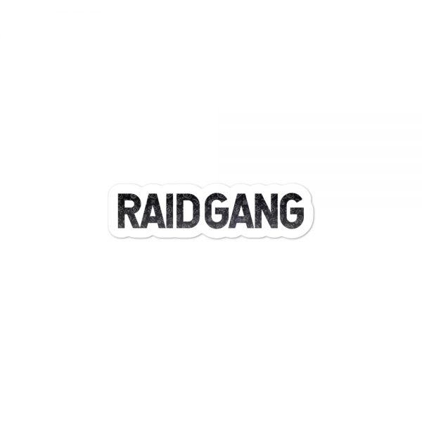 Raid Gang Sticker